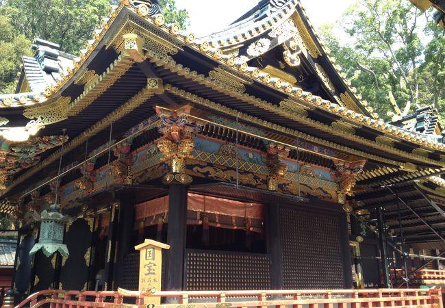 国宝の社殿