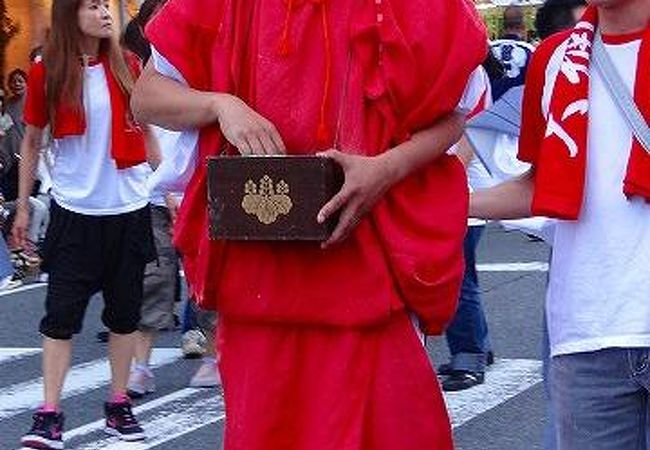 熱海が暑くなる、来宮神社の夏祭り
