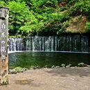 白糸の滝(長野県軽井沢町)