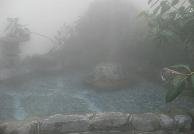 湯田温泉を見つけた白狐が住んでた