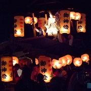新潟県三大祭りの一つ 村上大祭 7月6日(宵祭)7日(本祭り)