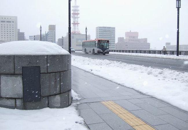 2011.1 雪の萬代橋