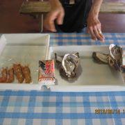 魚売り場で選んだものを調理してもらい食べる楽しみは格別です