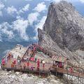 7月末は大混雑の玉龍雪山でした。でも行ってみる価値はありました。