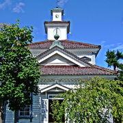 国内最古の塔時計といわれている由緒ある建物 「旧西田川郡役所」