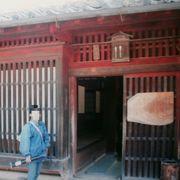 江戸末期の町家の構造が判る