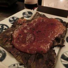 料理:焼き味噌