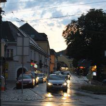 グリンツィングのホイリゲ街