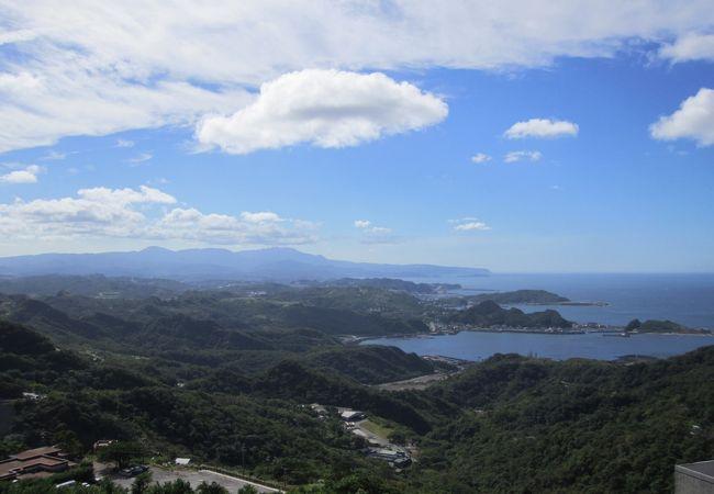 九分観光入口展望台からの眺めです。