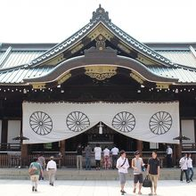平和の尊さについて考えることのできる神社です。