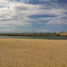 山の下船江町浜海水浴場