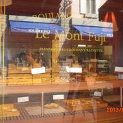 リサとガスパールタウンにある、フランス風カフェ