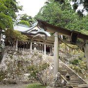 山道を上った先にある神秘のスポット玉置神社