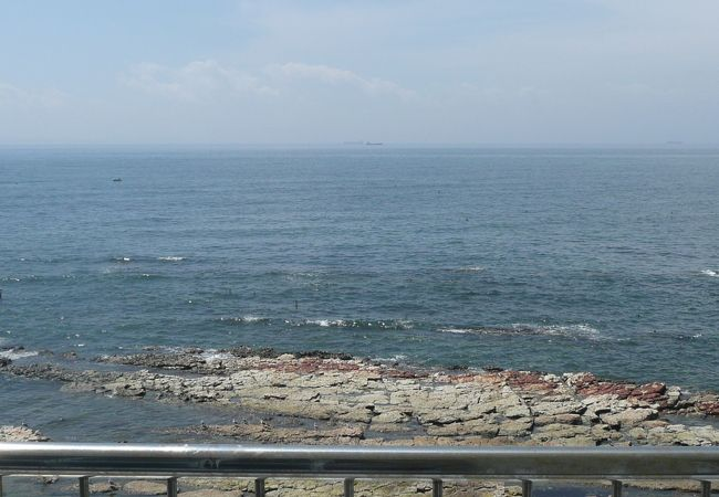 部屋からの海の景色です。