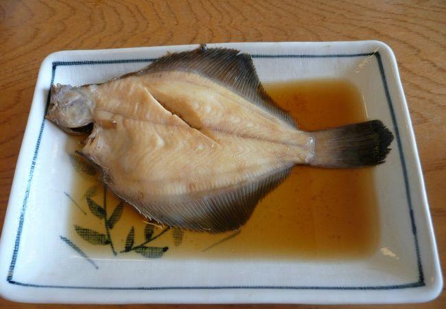 1500のコースの煮魚