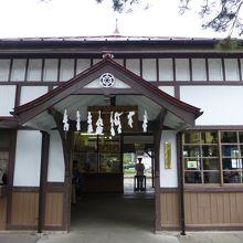 関東の駅百選に選ばれています