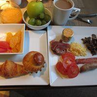 朝食 おいしかったですよ