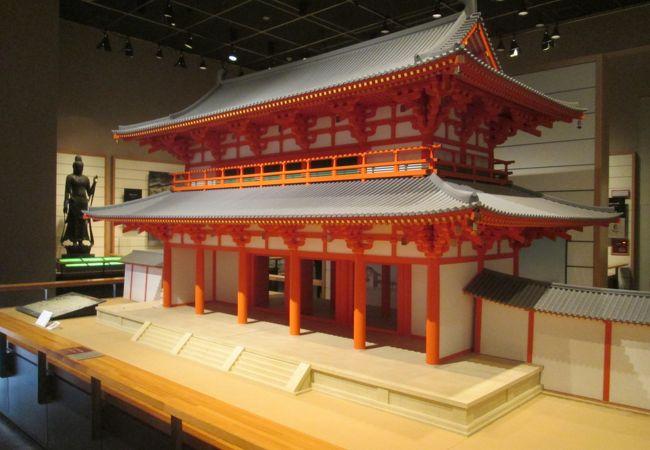 第1展示室(原始・古代)…羅城門です