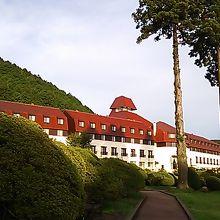 山のホテル 時間があればお庭の散歩をお勧めします