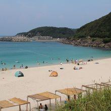 1.浦田海水浴場 まったりと過ごすにはバツグン