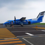 天草エアライン専用の空港です