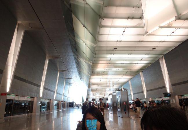 チャンギ空港内