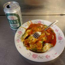 蚵仔煎(牡蛎オムレツ)