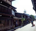 高山の古い町並み