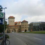 ドイツ博物館の近く