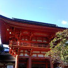 やっと来れたよ〜上賀茂神社