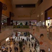 前橋駅から徒歩圏内にある巨大なショッピングモールでした