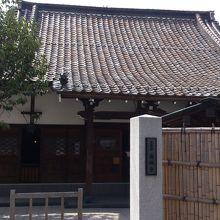 歴史のある寺院