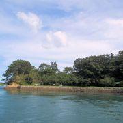 能島全体が能島城でした。能島へ上陸できるのは通常、花見の時期の年2日だけです