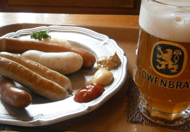 リトルワールド内のドイツレストラン