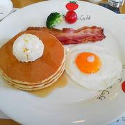 帝国ホテルの朝食