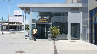 中心部から近くて便利なターミナル。