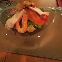 彩巴サラダ(海鮮サラダ)