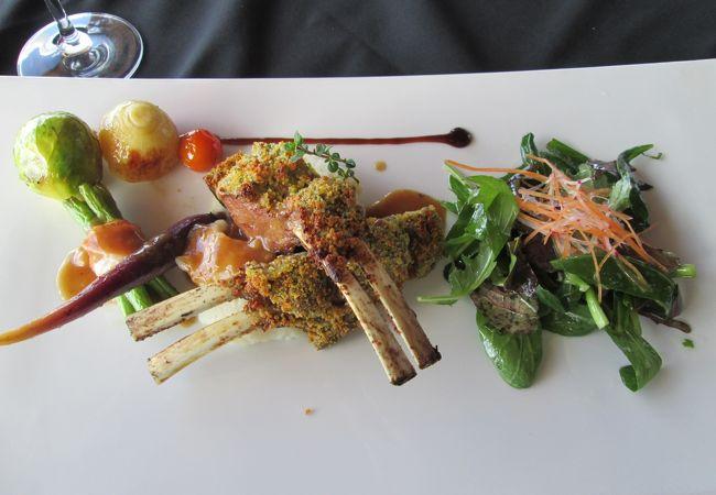 アオランギ ピーク レストラン