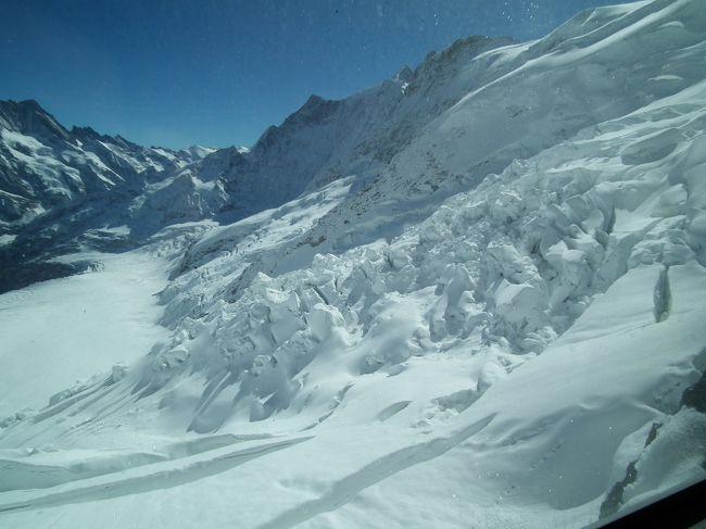 アイスメーア駅より見た氷河