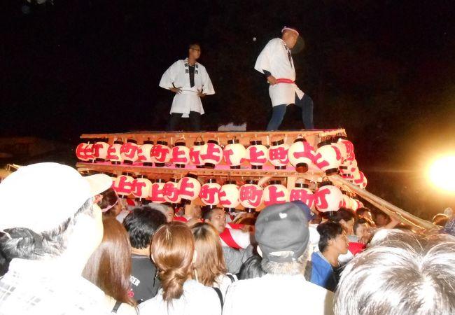 日本三大けんか祭りのひとつ