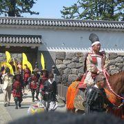 毎年5月の連休中に開かれる人気のお祭り