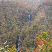 滝見台からの展望が素晴らしい