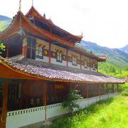 黄龍にあるお寺