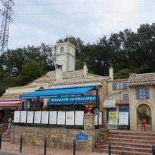 フランスのサービスエリア?