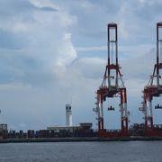 横浜港を見渡せる展望タワー