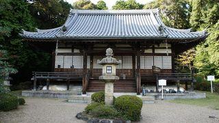 国宝、木心乾漆十一面観音立像が有名