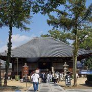 国宝の本堂と重要文化財の仁王門のあるお寺です。