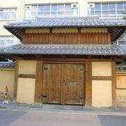 茨木の城址