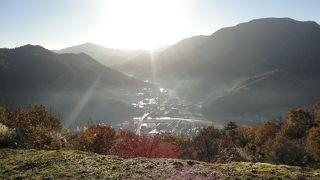 竹田城跡から見る景色は絶景