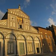 教会から見るフィレンツェの景色
